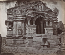 Close view of the entrance to the Kumbha Shyama Temple, Chittaurgarh [Chitorgarh]
